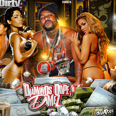"""Diamonds, Dope & Dimez"" Mixtape by Gorilla Zoe"