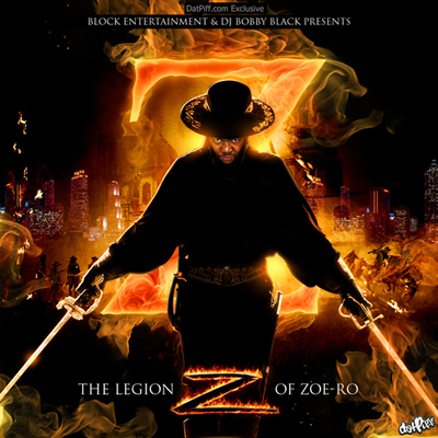 """The Legion of Zoe-Ro"" Mixtape by Gorilla Zoe"