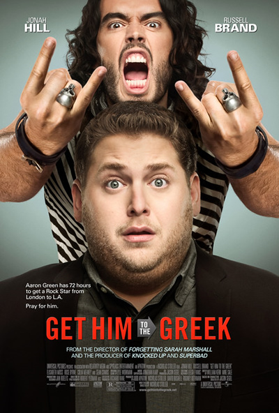 """Get Him to the Greek"" Movie Poster"