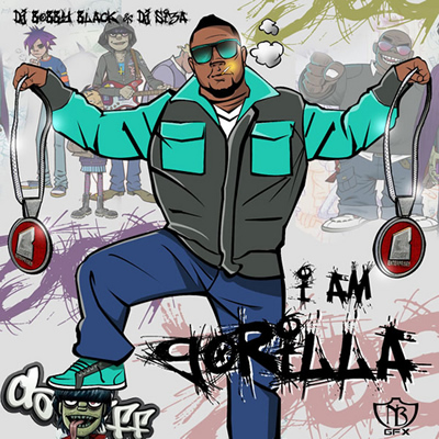 """I Am Gorilla"" Mixtape by DJ Bobby Black, DJ Siza and Gorilla Zoe"