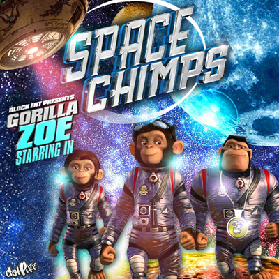 """Space Chimps"" Mixtape by Gorilla Zoe"