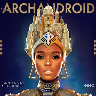 "Album Cover: ""The ArchAndroid"" by Janelle Monae"