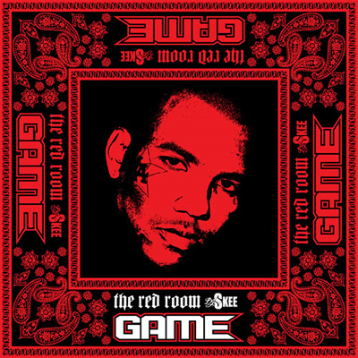 """The Red Room"" Mixtape by Game (Front Cover)"