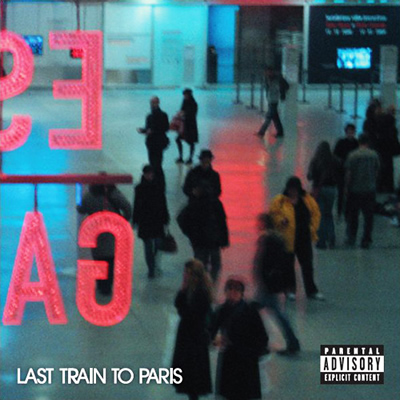 """Last Train to Paris"" by Dirty Money (Album Cover)"