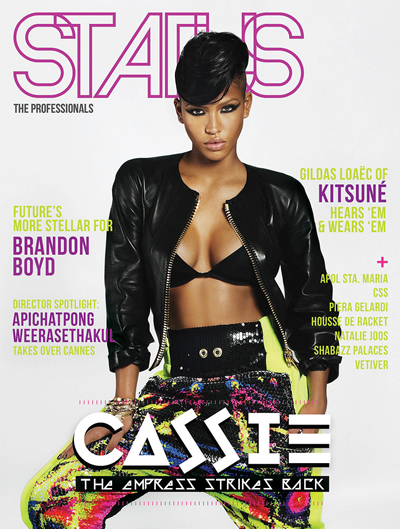Cassie Covers STATUS Magazine