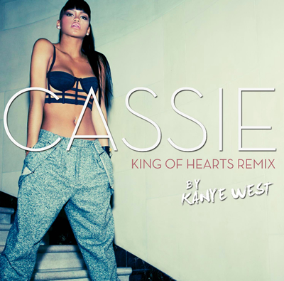 """King of Hearts (Kanye West Remix)"" by Cassie (Front Cover)"