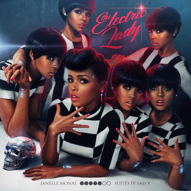 """The Electric Lady"" by Janelle Monáe (Album Cover)"