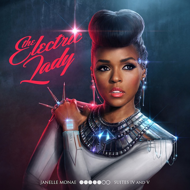 """The Electric Lady (Target Exclusive)"" by Janelle Monáe (Album Cover)"